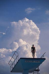 Cloud Diver, Boca Raton, FL by Walter Iooss Jr contemporary artwork photography