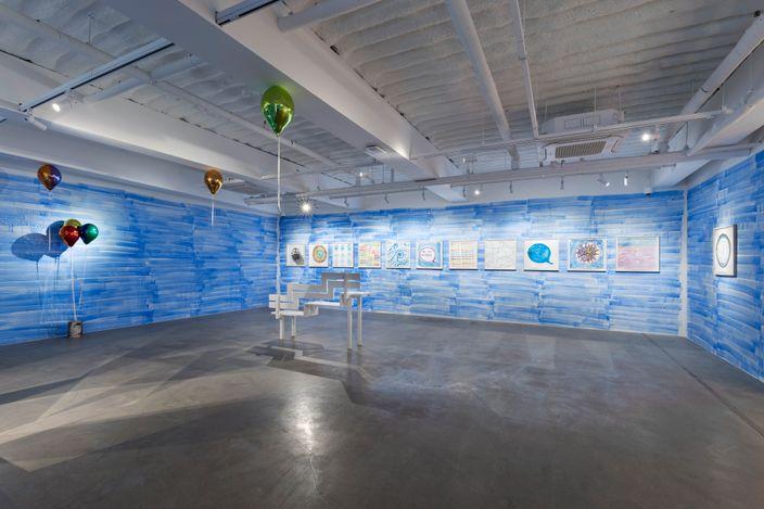 Exhibition view: Jeppe Hein, You Make Me Shine, KÖNIG GALERIE, Seoul (16 June–18 July 2021). Courtesy KÖNIG GALERIE.