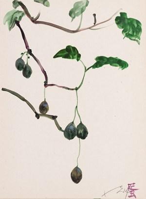 Memory Tree Work on Paper no.8 記憶樹紙上作品 no.8 by Liu Xiaodong contemporary artwork