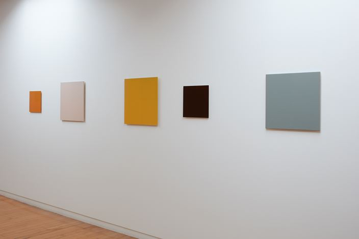 Exhibition view: Simon Morris, Colour follows light, light follows colour, Two Rooms, Auckland (5 September–10 October 2020). Courtesy Two Rooms.