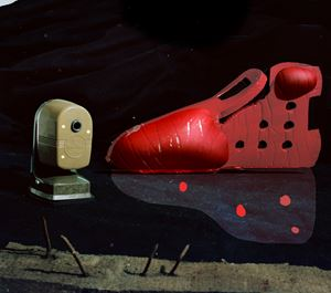 Sharpener and Shoe by Lucas Blalock contemporary artwork