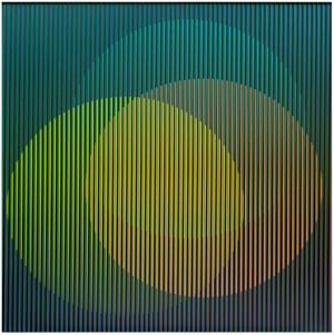 Physichromie RVB Dos by Carlos Cruz-Diez contemporary artwork