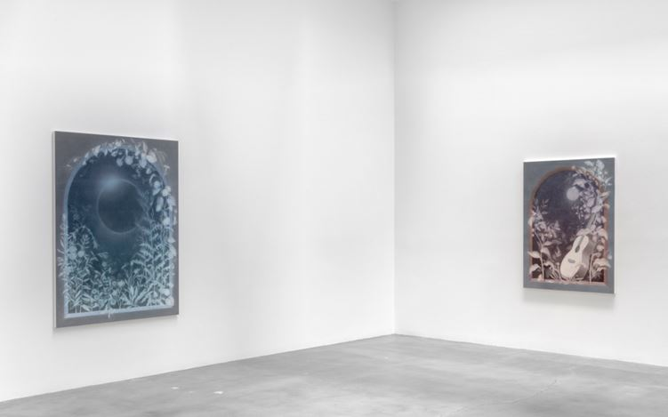 Exhibition view: Theodora Allen, Vigil, Blum & Poe, Los Angeles 24 June-19 August 2017. Courtesy Blum & Poe, Los Angeles.
