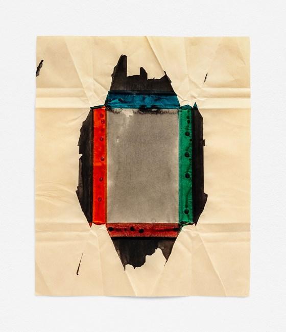 Biblio (AmFolk Black) by Jeff McMillan contemporary artwork