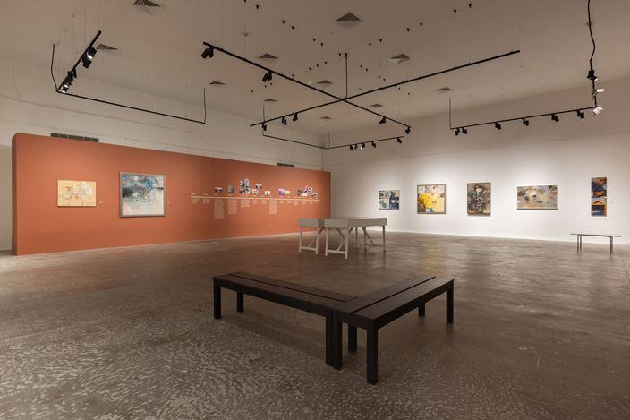 Exhibition view:Shakir Hassan Al Said, Meem Gallery, Dubai (17 November 2020–28 February 2021). Courtesy Meem Gallery.