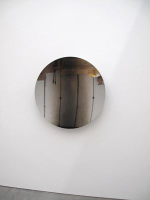Mirror (Black Mist) by Anish Kapoor contemporary artwork