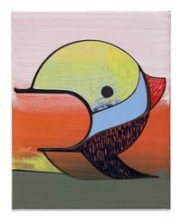 Kopf 1118 by Thomas Scheibitz contemporary artwork painting, works on paper, drawing