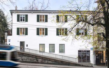 Rämistrasse, Zürich Location