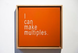 I Can Make Multiples 3 by David Boyce contemporary artwork