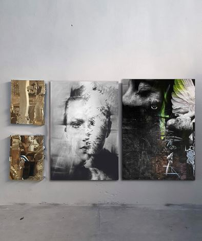 Exhibition view: Igor Dobrowolski, Re-LOVE, GIN HUANG Gallery, Taiwan (15 October–28 November 2020). CourtesyGIN HUANG Gallery.