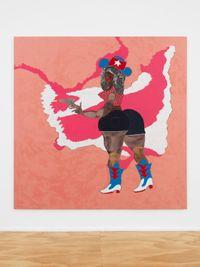 Pocket Rocket by Tschabalala Self contemporary artwork painting