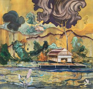 Boathouse by Pierre Knop contemporary artwork