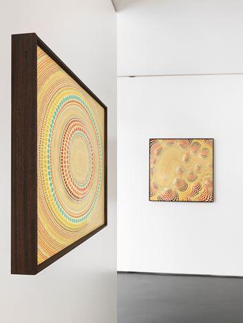Exhibition view: Minoru Onda, Paintings: 1960s onward, Anne Mosseri-Marlio Galerie, Basel (7 June–5 July 2019). Courtesy Anne Mosseri-Marlio Galerie. Photo:© Anne Mosseri-Marlio / S. Hasenböhler.