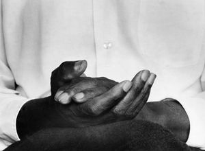 Hands of Contentment, Tuskegee, Alabama by Chester Higgins contemporary artwork