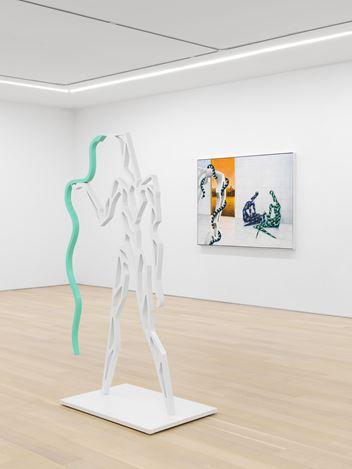 Exhibition view: Alejandro Cardenas,ALEXANDRIA, Almine Rech, New York (21 January–23 February 2021).Courtesy the Artist and Almine Rech. Photo: Dan Bradica.