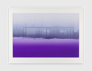 Lavender Mist by James Welling contemporary artwork