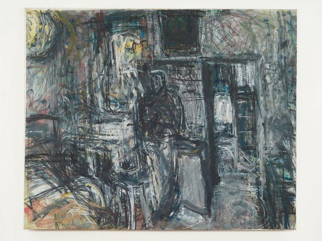 Frances reading at Lyndhurst Grove by Sargy Mann contemporary artwork