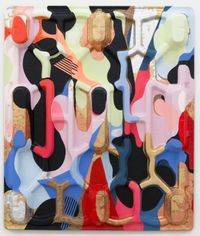new balance by Miranda Parkes contemporary artwork painting, sculpture, mixed media