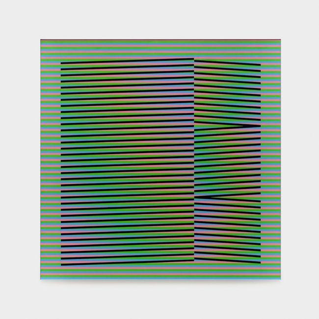 Induction Chromatique N°212 by Carlos Cruz-Diez contemporary artwork