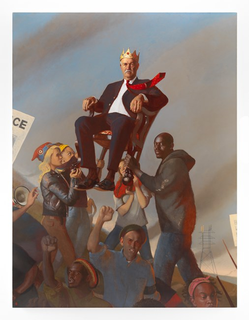 Oligarchy by Bo Bartlett contemporary artwork