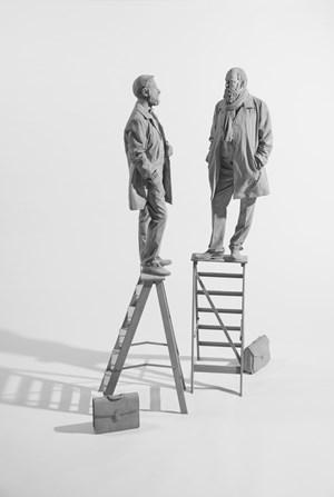 The Conversation by Hans Op de Beeck contemporary artwork