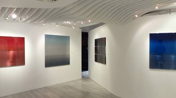Contemporary art exhibition, Miya Ando, Light Metal at Sundaram Tagore Gallery, Hong Kong