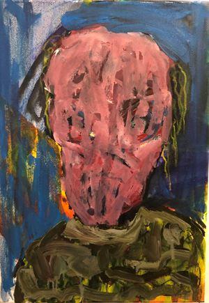 A Glimpse of Society III by Nyasha Marovatsanga contemporary artwork