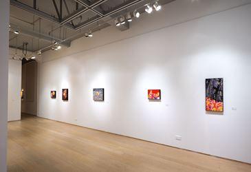 Installation: Fang Lijun,This All Too Human World, Hanart TZ Gallery, Hong Kong (3 November–2 December 2017). Courtesy Hanart TZ Gallery.Photo: Kitmin Lee.