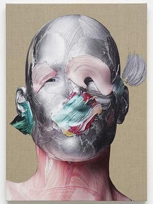 Upper World Portrait by Matthew Stone contemporary artwork