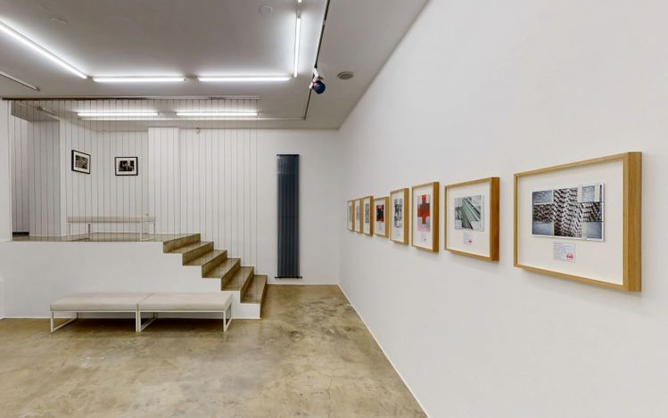 Exhibition view: Tihomir Pinter, Roman Uranjek & Tadej Vaukman, Jesenice Project, Galerija Fotografija, Ljubljana (16 March–22 May 2021). Courtesy Galerija Fotografija.