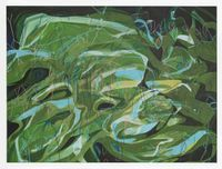 Moss Love by Janaina Tschäpe contemporary artwork painting, drawing