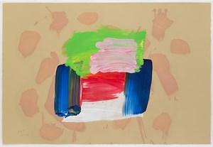 Icecream by Howard Hodgkin contemporary artwork