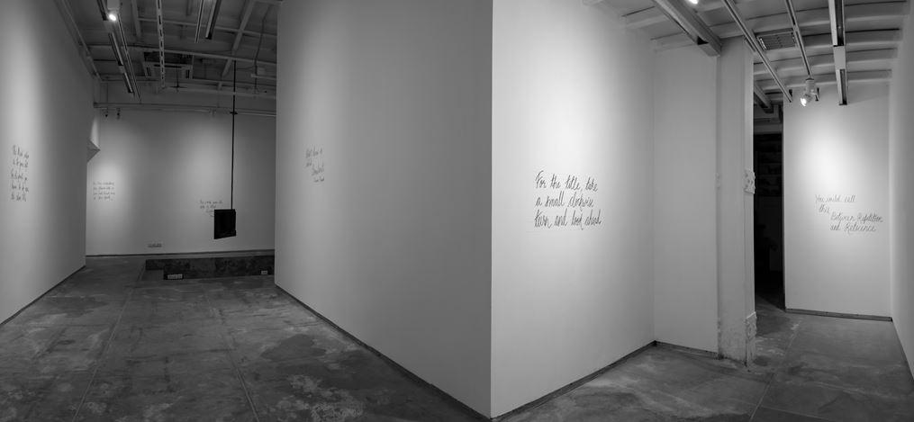 Exhibition view: Abhishek Hazra, Between Repetition & Reticence, Experimenter, Hindustan Road (9–30 September 2020). Courtesy Experimenter.