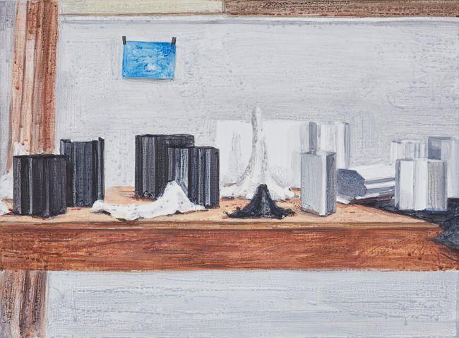 Small Landscape in the Studio.1 by Eunjoo Roh contemporary artwork