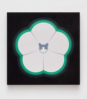 Tesla by Linda Stark contemporary artwork
