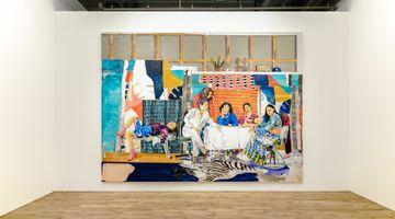 Contemporary art exhibition, Marius Bercea, The Far Sound of Cities at MAKI, Tennoz, Tokyo
