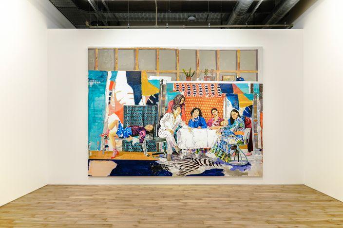 Exhibition view: Marius Bercea,The far sound of cities, MAKI, Tennoz, Tokyo (27 March–1 May 2021). Courtesy MAKI.