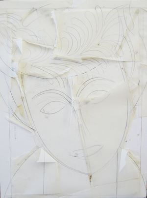 Amelie II by Manolo Valdés contemporary artwork