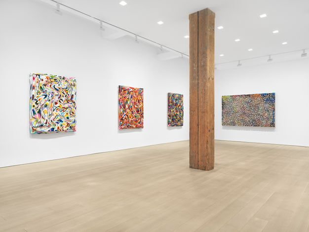 Exhibition view: MarkusLinnenbrink, WEREMEMBEREVERYONE, Miles McEnery Gallery, West 22nd Street, New York (1 April–8 May 2021). Courtesy the artist and Miles McEnery Gallery, New York, NY.Photo: Christopher Burke Studio.