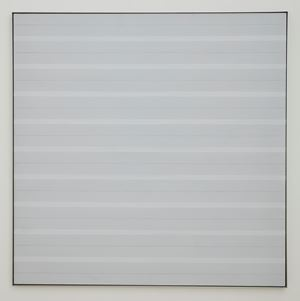 Untitled #2 by Agnes Martin contemporary artwork
