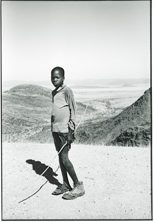 Van Zyl's Pass (Boy with Bow), Namibia by Paolo Solari Bozzi contemporary artwork
