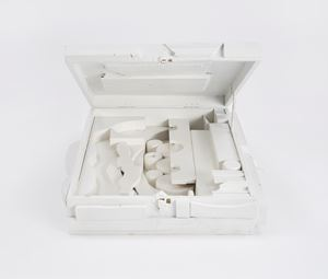 Floating Cloud, Cryptic VII by Louise Nevelson contemporary artwork