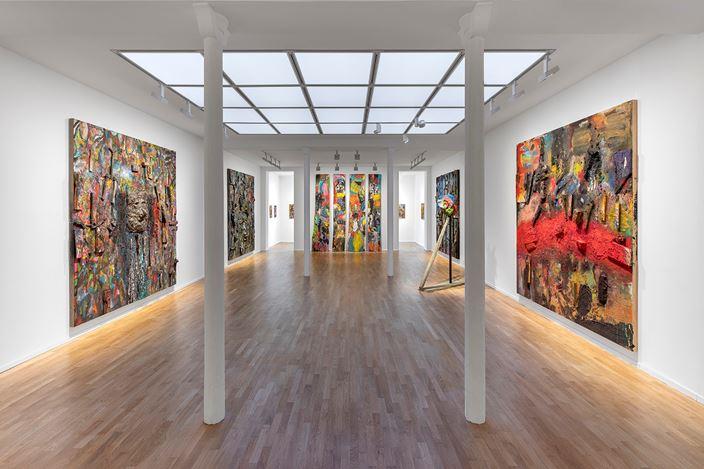 Exhibition view: Jim Dine,A Day Longer,Galerie Templon, Paris (7 November 2020–30 January 2021). Courtesy Templon, Paris - Brussels.Photo: Nicolas Brasseur.