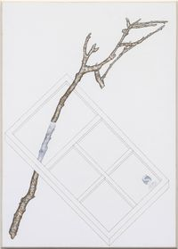 Stick with Window Bracelet by Zina Swanson contemporary artwork painting