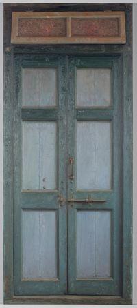 Door IV by Abir Karmakar contemporary artwork painting
