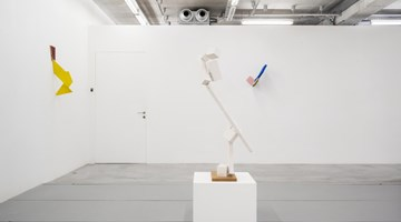 Contemporary art exhibition, Joel Shapiro, Painted Wood at Almine Rech, Brussels