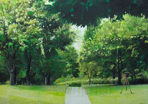 Study of Green-Seoul-Vacant Lot-Seoul Forest by Honggoo Kang contemporary artwork