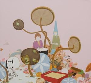 Trio and Mascot (Grande) by Mark Rodda contemporary artwork