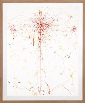 Der Blutbaum by Rebecca Horn contemporary artwork