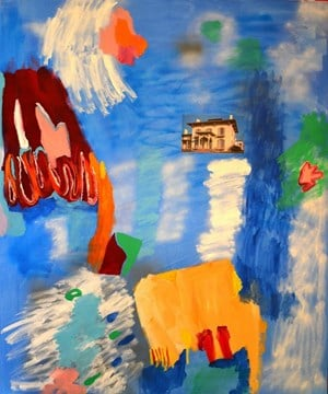 If you build your house, then call me home by Minna Gilligan contemporary artwork